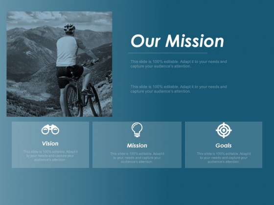 Our Mission Vision Goal Ppt Powerpoint Presentation Model Introduction
