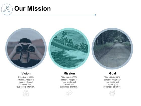 Our Mission Vision Goal Ppt PowerPoint Presentation Portfolio Picture