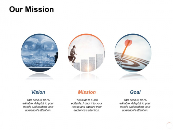 Our Mission Vision Goal Ppt PowerPoint Presentation Professional Sample
