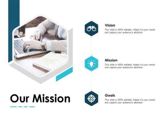Our Mission Vision Goals Ppt PowerPoint Presentation Visual Aids Summary