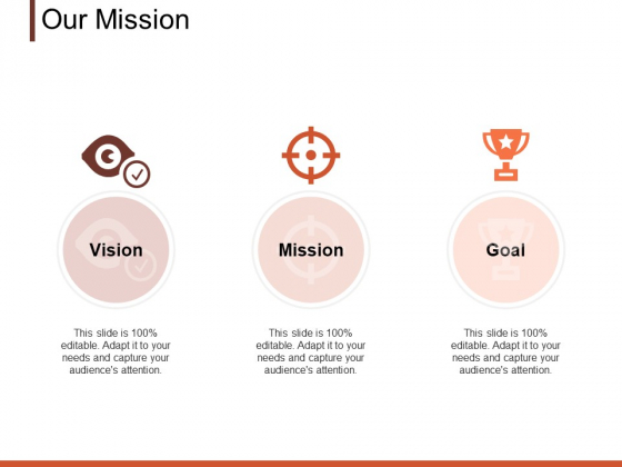 Our Mission Vision Ppt PowerPoint Presentation Professional Layout