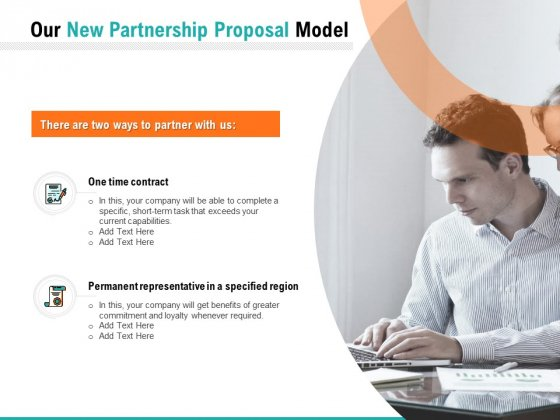 Our New Partnership Proposal Model Ppt PowerPoint Presentation Gallery Graphics Pictures