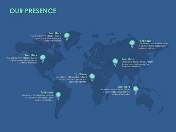 Our Presence Information Ppt PowerPoint Presentation Styles Templates