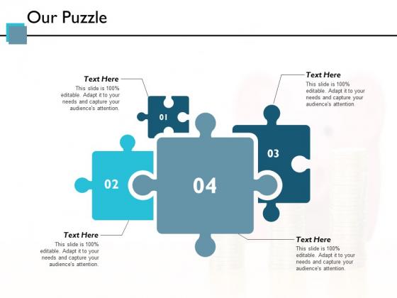 Our Puzzle Ppt PowerPoint Presentation Slides Good