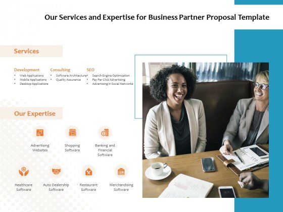 Our Services And Expertise For Business Partner Proposal Template Ppt PowerPoint Presentation Infographic Template Background Designs