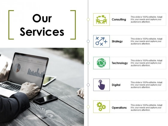 Our Services Ppt PowerPoint Presentation File Slide