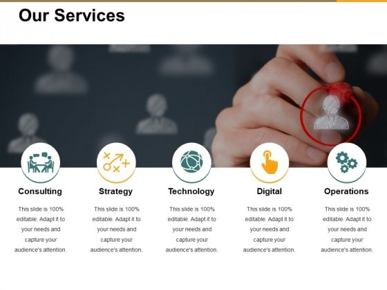 Our Services Ppt PowerPoint Presentation Slides Images