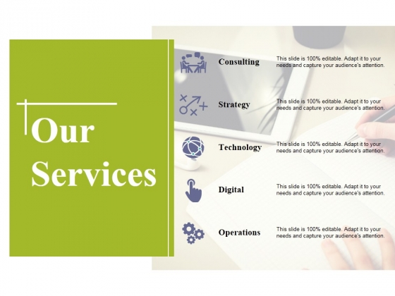 Our Services Ppt PowerPoint Presentation Styles Topics