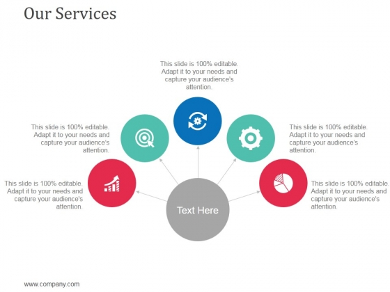 Our Services Ppt Powerpoint Presentation Summary Information