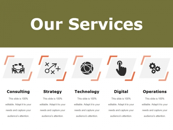 Our Services Ppt PowerPoint Presentation Summary
