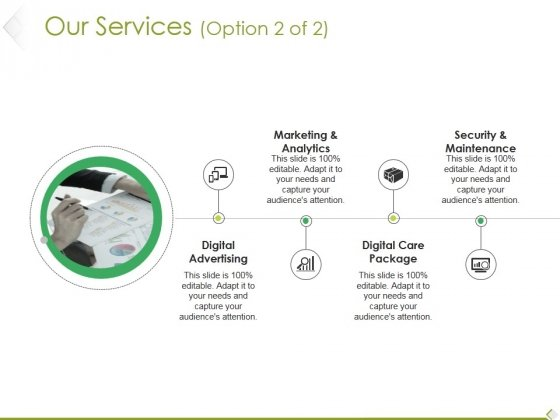 Our Services Template 2 Ppt PowerPoint Presentation Model Background Images