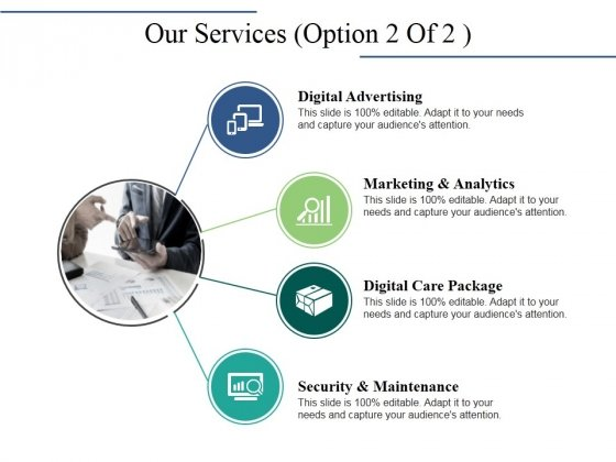 Our Services Template 2 Ppt PowerPoint Presentation Show Design Inspiration