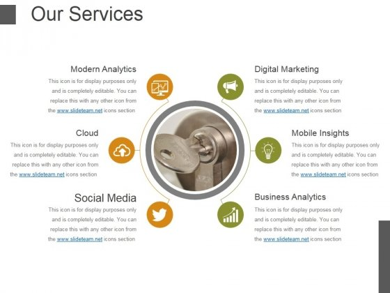 Our Services Template 3 Ppt PowerPoint Presentation Icon Show