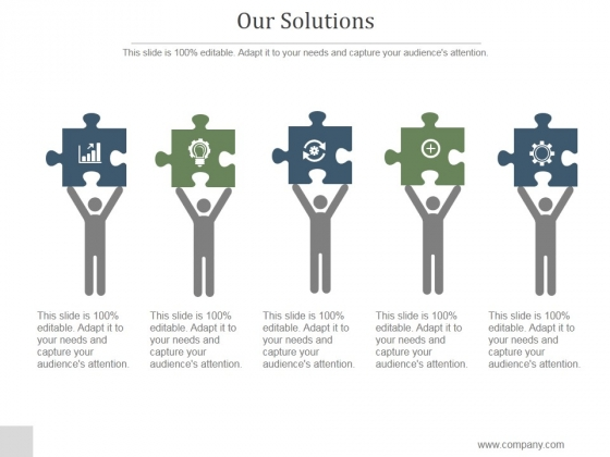 Our Solutions Ppt PowerPoint Presentation Microsoft