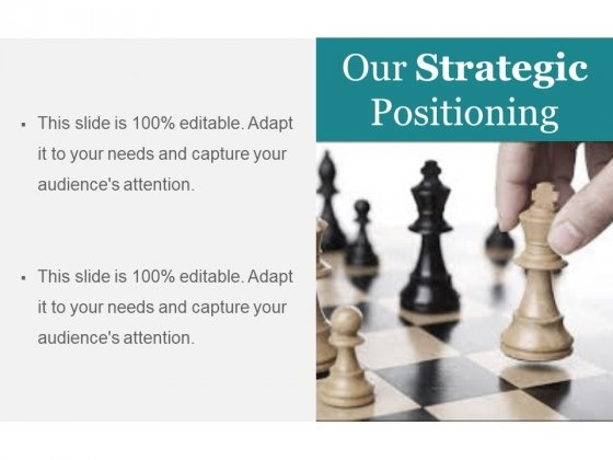 Our Strategic Positioning Ppt PowerPoint Presentation Infographics Ideas