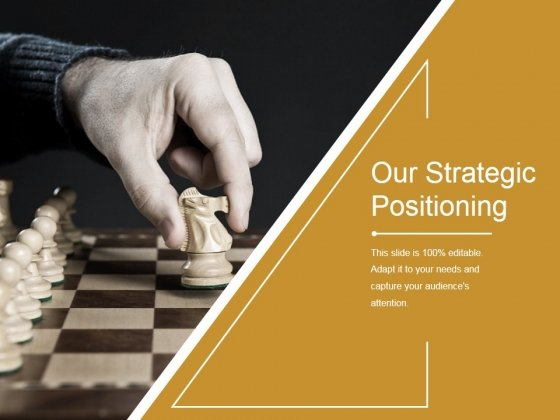 Our Strategic Positioning Template 1 Ppt PowerPoint Presentation Summary Images