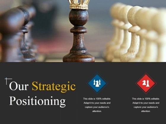 Our Strategic Positioning Template 2 Ppt PowerPoint Presentation Model Graphic Tips
