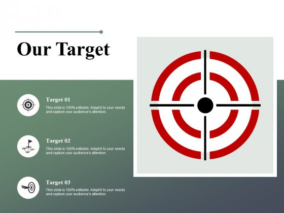Our Target Arrow Ppt PowerPoint Presentation Icon Files