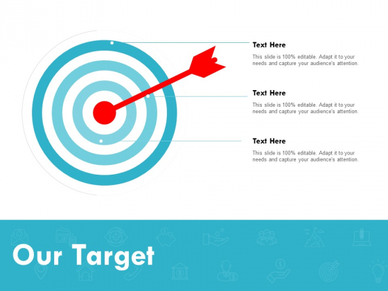 Our Target Arrow Ppt PowerPoint Presentation Slides Backgrounds