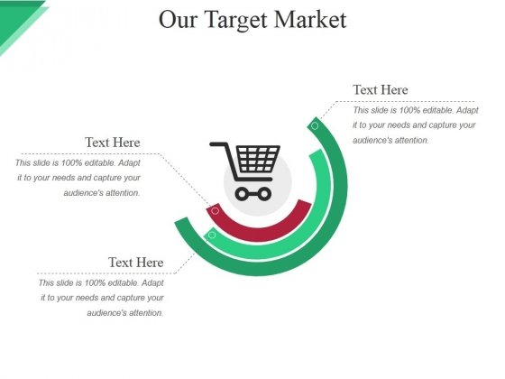 Our Target Market Ppt PowerPoint Presentation Summary Background Designs