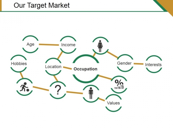 Our Target Market Template 2 Ppt PowerPoint Presentation Summary Model