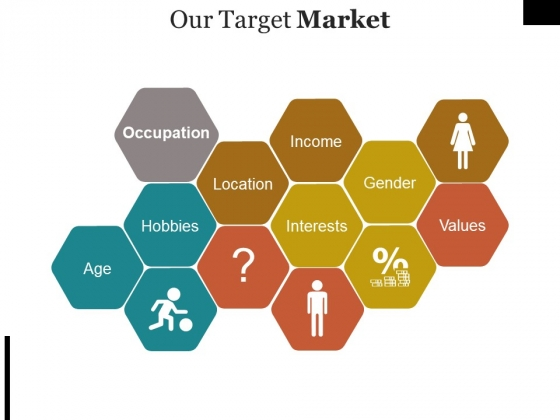 Our Target Market Template Ppt PowerPoint Presentation Professional Information