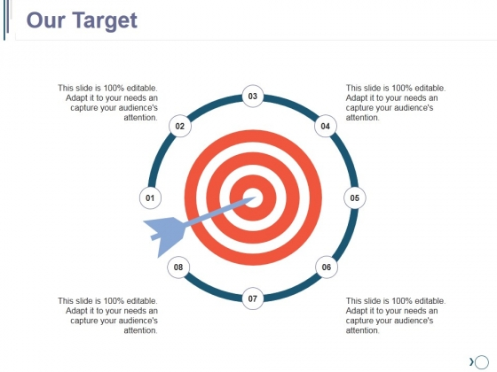 Our Target Ppt PowerPoint Presentation Design Templates