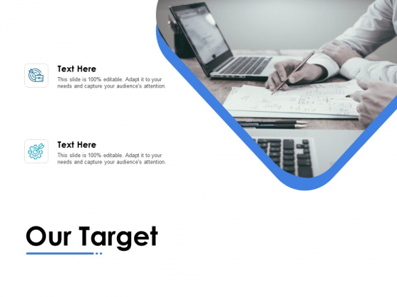 Our Target Ppt PowerPoint Presentation Gallery Slide Portrait