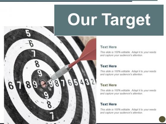 Our Target Ppt PowerPoint Presentation Icon File Formats