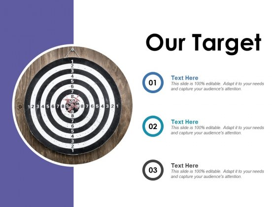 Our Target Ppt PowerPoint Presentation Infographic Template Templates