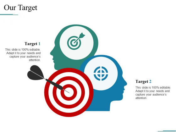 Our Target Ppt PowerPoint Presentation Infographics Clipart