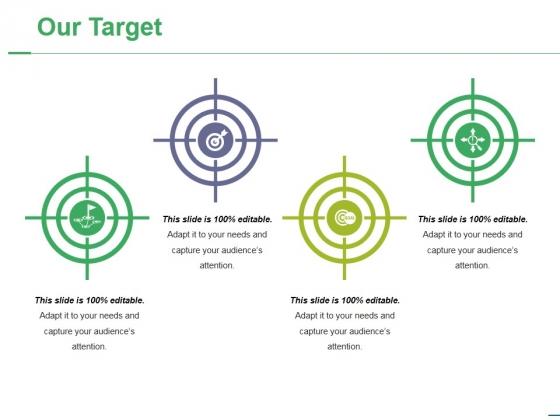 Our Target Ppt PowerPoint Presentation Portfolio Layout