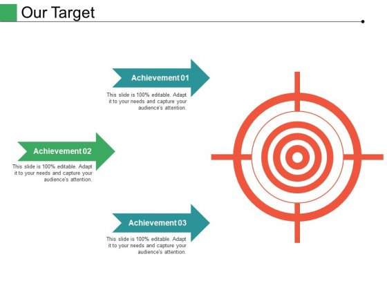 Our Target Ppt PowerPoint Presentation Professional Mockup
