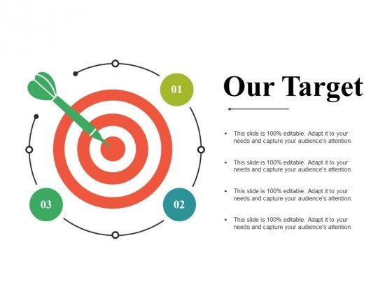 Our Target Ppt PowerPoint Presentation Professional Structure