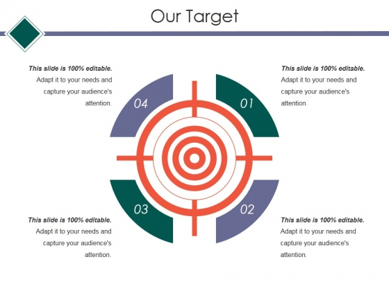 Our Target Ppt PowerPoint Presentation Slides Designs Download