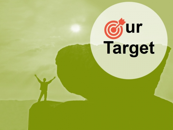 Our Target Ppt PowerPoint Presentation Slides Show