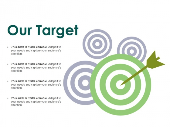 Our Target Ppt PowerPoint Presentation Styles Clipart