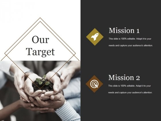Our Target Ppt PowerPoint Presentation Styles