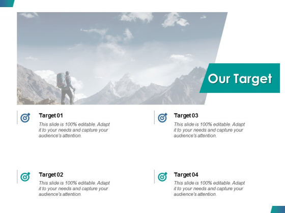 Our Target Success Ppt PowerPoint Presentation Model Rules