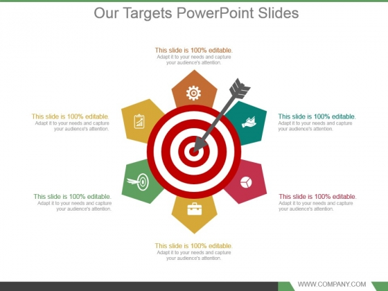 Our Targets Powerpoint Slides