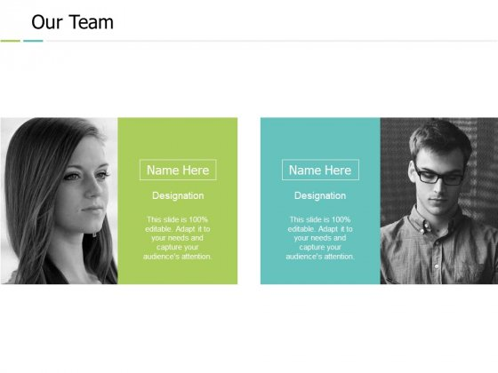 Our Team Communication Introduction Ppt PowerPoint Presentation Professional Show