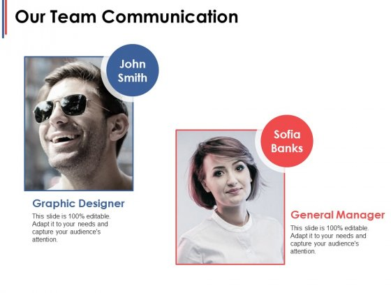 Our Team Communication Ppt PowerPoint Presentation File Good