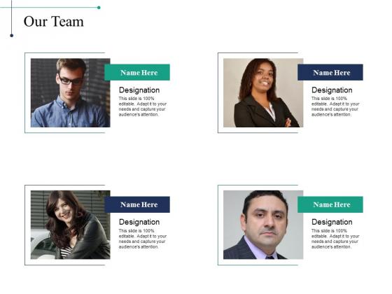 Our Team Introducation Ppt PowerPoint Presentation Portfolio Aids