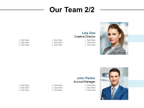 Our Team Introduction Ppt PowerPoint Presentation Diagram Images