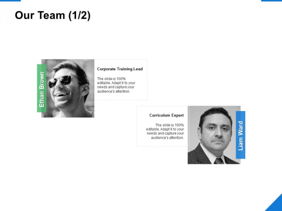 Our Team Introduction Ppt PowerPoint Presentation Diagram Lists