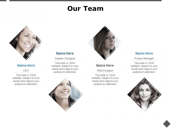 Our Team Introduction Ppt PowerPoint Presentation File Show