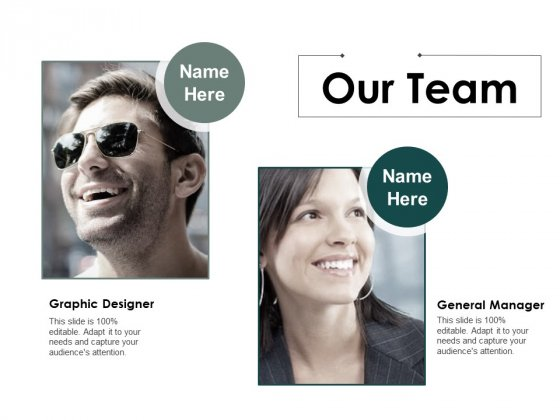 Our Team Introduction Ppt PowerPoint Presentation Ideas Shapes