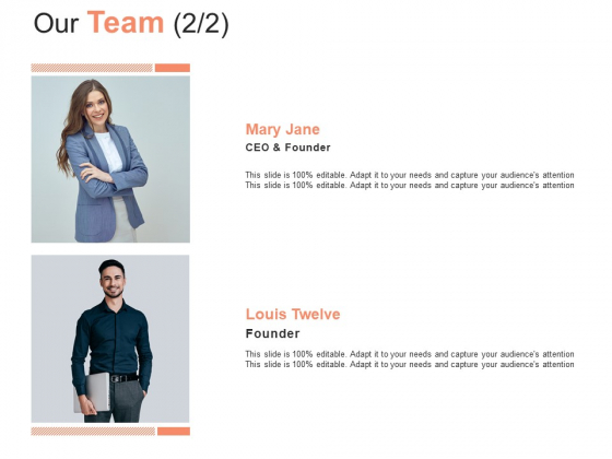 Our Team Introduction Ppt PowerPoint Presentation Professional Template