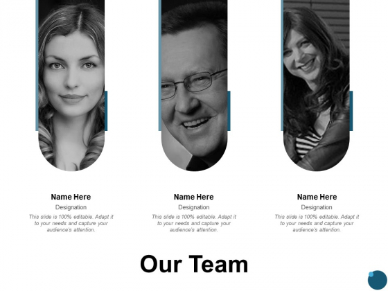 Our Team Introduction Ppt PowerPoint Presentation Professional Visual Aids