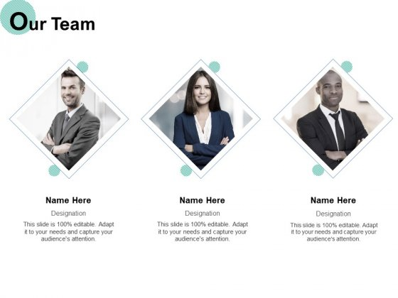 Our Team Introduction Ppt PowerPoint Presentation Show Design Ideas